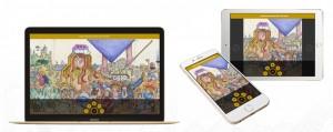 """""""Die Wiedmann Bibel"""" - die längste gemalte Bibel der Welt als App"""