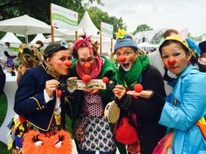 Die Clowns von www.HumorhilftHeilen.de